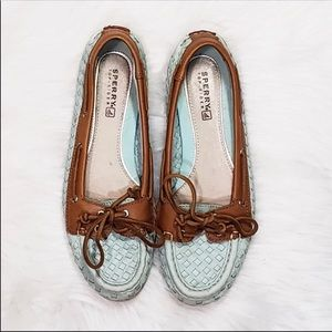 Sperry Top Sider Ladies Size 6 Leather